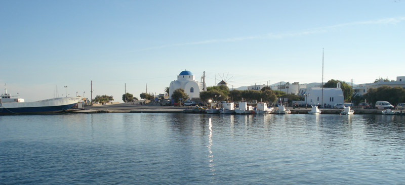 Antiparos Island - Port